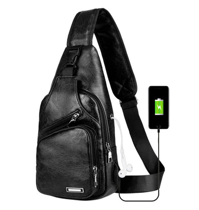 USB Charging Crossbody Bags