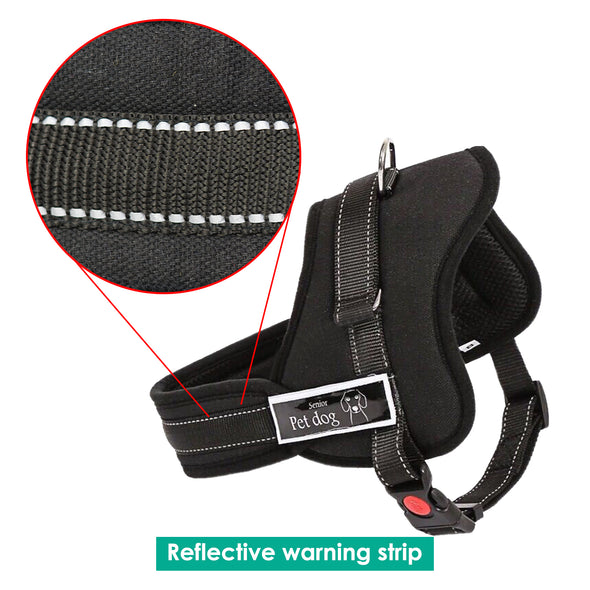 Dog Adjustable Harness Support Pet Training Control Safety Hand Strap Size XL