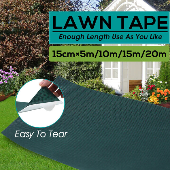 4 Rolls 20Mx15cm Self Adhesive Artificial Grass Fake Lawn Joining Tape