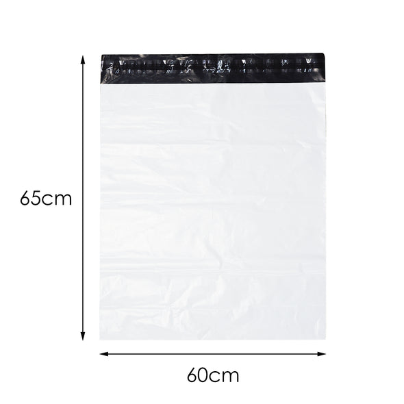 100x Poly Post Mailer Plastic Satchel Self Sealing Courier Mail Posting Bags