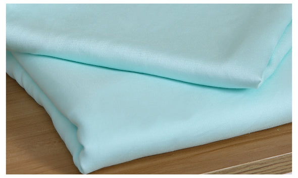 DreamZ 400TC 4 Pcs Natural Bamboo Cotton Bed Sheet Set in Size Double Green