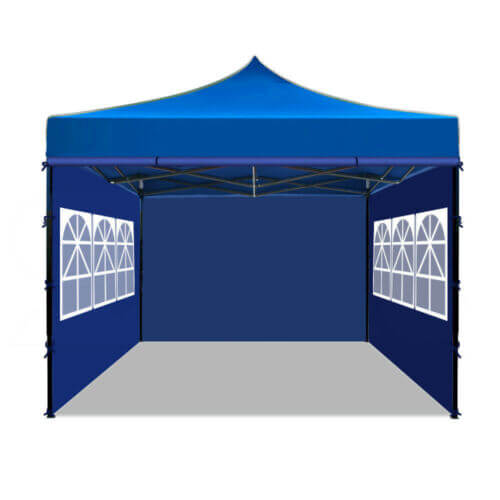 Mountview 3x3M Gazebo Pop Up Tent  Marquee Party Wedding Camping Canopy Grey