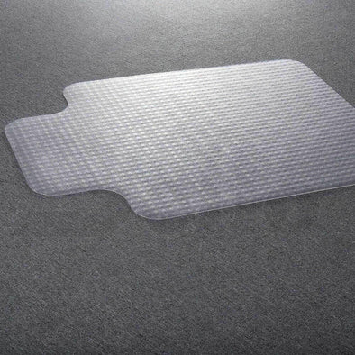 Carpet Floor Office Home Computer Work Chair Mats Vinyl PVC Plastic 1350x1140mm