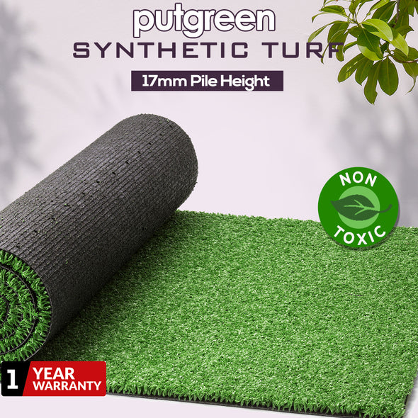 60SQM Artificial Grass Lawn Flooring Outdoor Synthetic Turf Plastic Plant Lawn