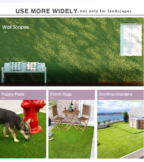 30SQM Summer Cool Artificial Grass Synthetic Turf Plastic Plant Lawn Flooring