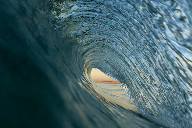 Daily Salt Surf Design Prints - TUNNEL VISION