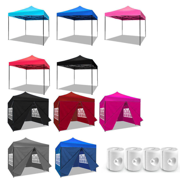 Mountview 3x3M Pop Up Gazebo Outdoor Folding Tent Party Marquee Canopy Sunshade