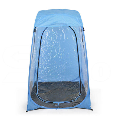 2x Pop Up Camping Garden Beach Portable Weather Tent Sun Shelter Fishing Blue