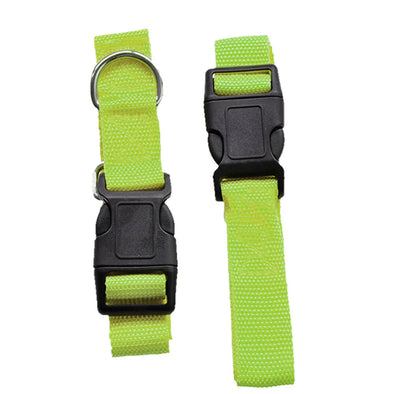 Adjustable Dog Hands Free Leash Waist Belt Buddy Jogging Walking Running Green