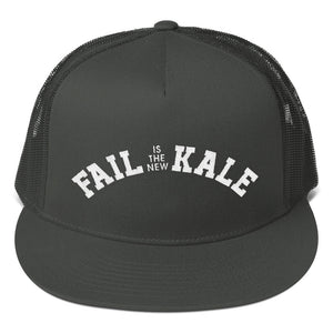 """Fail is The New Kale"" Trucker Hat"