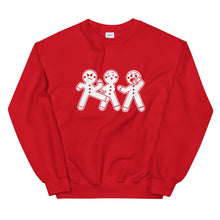 "Load image into Gallery viewer, ""Gingerbread Baddies"" Sweatshirt"