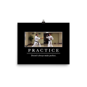 """Practice"" Poster"