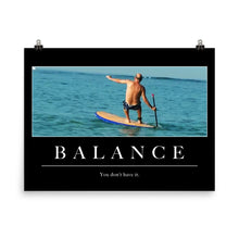 "Load image into Gallery viewer, ""Balance"" Poster"