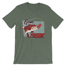 "Load image into Gallery viewer, ""Gone Phishin"" T-Shirt"