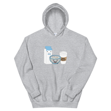 "Load image into Gallery viewer, ""Wake n' Bake Cereal"" Hoodie"