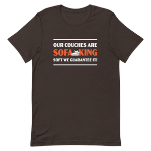 """Sofa King Soft"" T-Shirt"