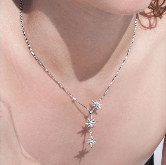 apm Monaco Triple Meteorites Necklace [ FREE SHIPPING ]