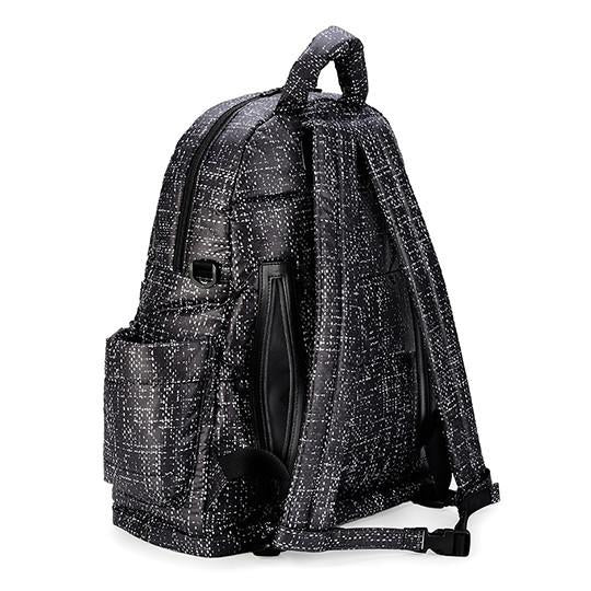 CiPU Baby Diaper Bag - Black Tweed (MEDIUM) [ FREE SHIPPING ]