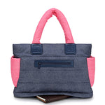 CiPU Tote Baby Diaper Bag - Denim Pink (Large) [ FREE SHIPPING ]