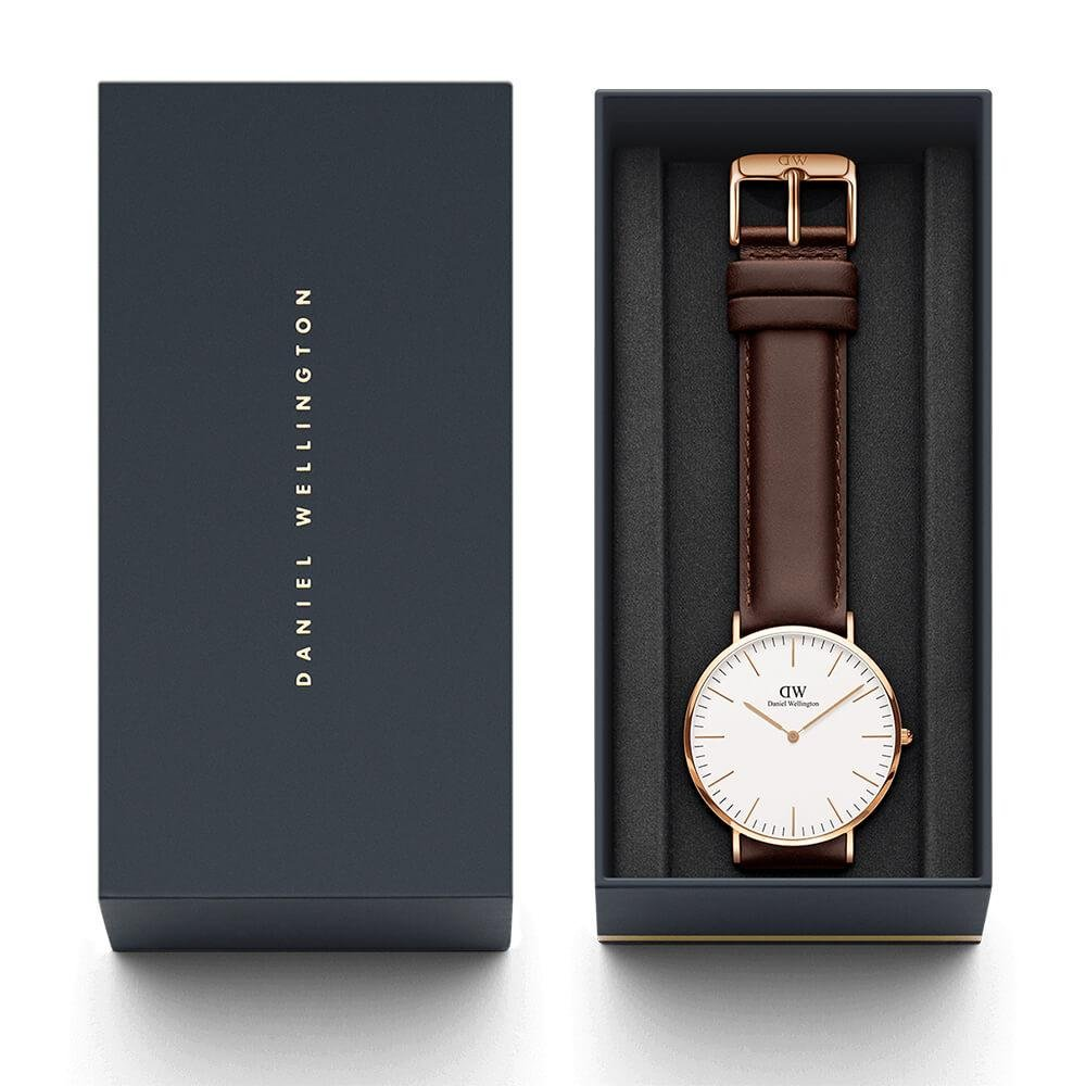 Daniel Wellington CLASSIC 40MM BRISTOL Watch [ FREE SHIPPING ]