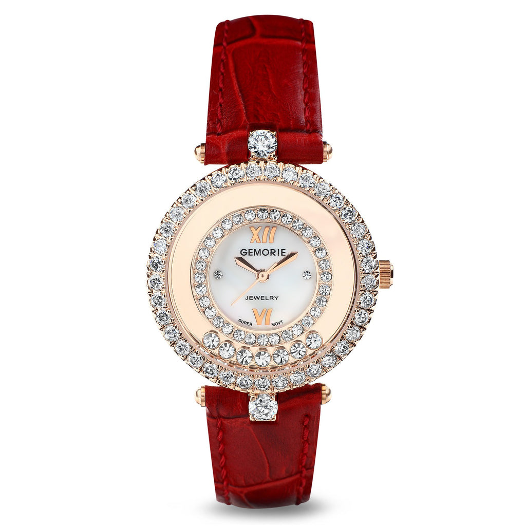 THE VALENTINA ROSE GOLD FEMALE WATCH  [ FREE SHIPPING ]