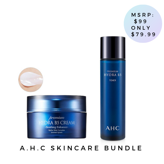 A.H.C Premium Hydra Skin Care Bundle - 2 pcs [ FREE SHIPPING ]