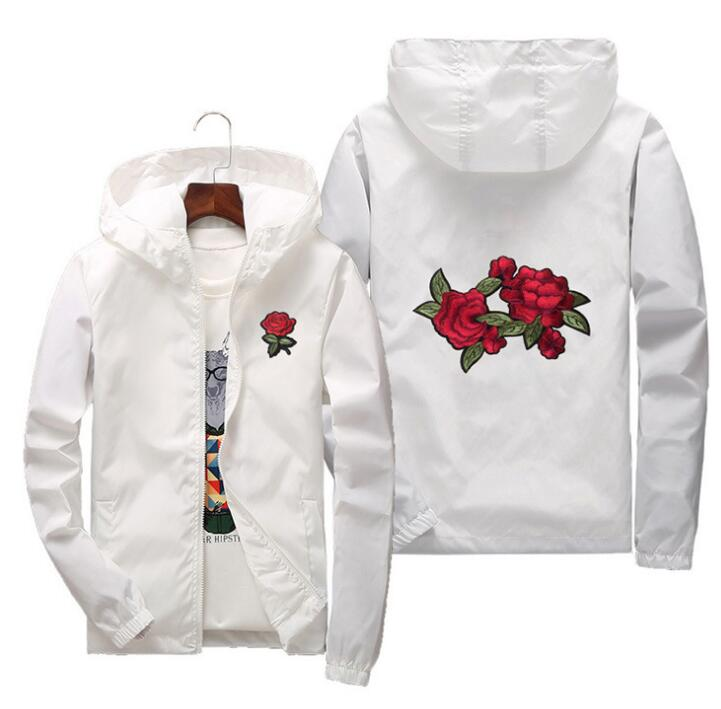 2019 Rose Design Windbreaker
