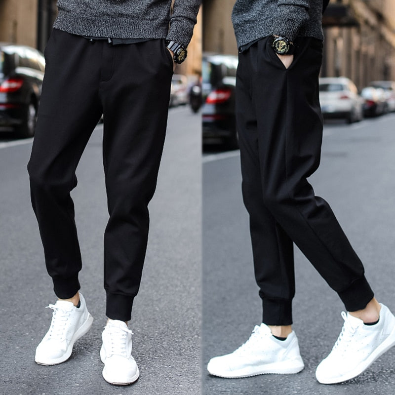 High End Black Street Wear Sweatpants