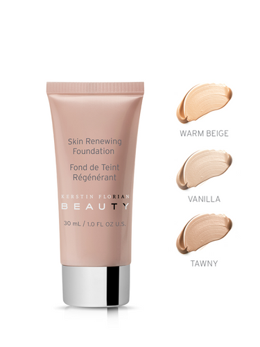 Skin Renewing Foundation, WARM BEIGE, 30 ml