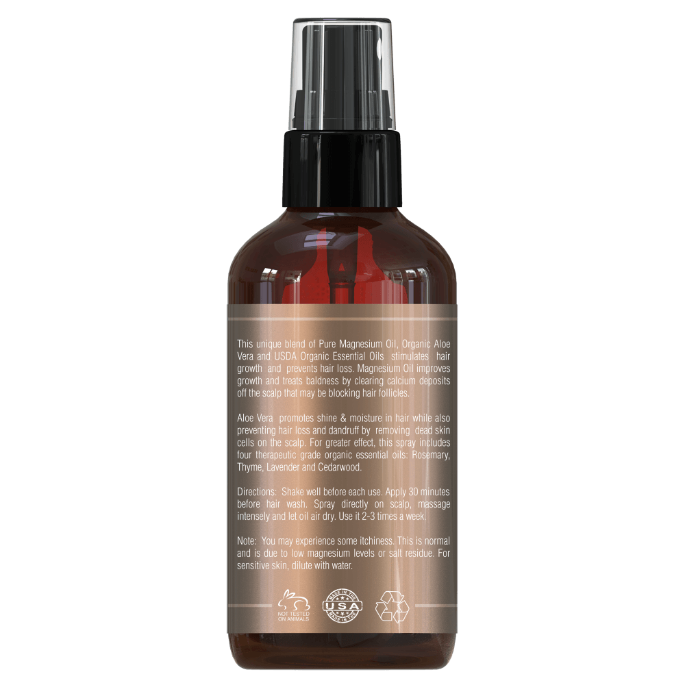 Anti-Haarausfall Magnesiumöl-Spray, 120 ml