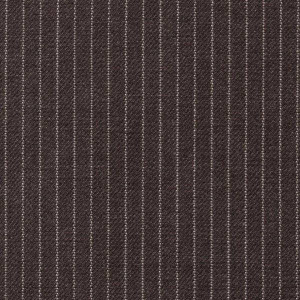 Holland & Sherry Portofino Dark Grey Narrow Interlace Stripe 1/8 inch 118003