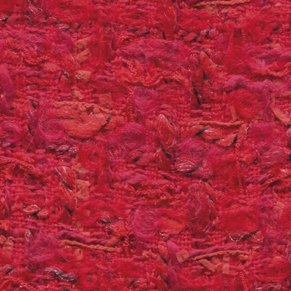 Holland & Sherry Ladieswear Red Boucle Fancy Mix 1219350