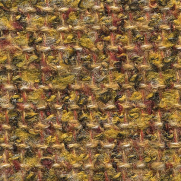 Holland & Sherry Ladieswear Mustard Boucle Mix 1219450