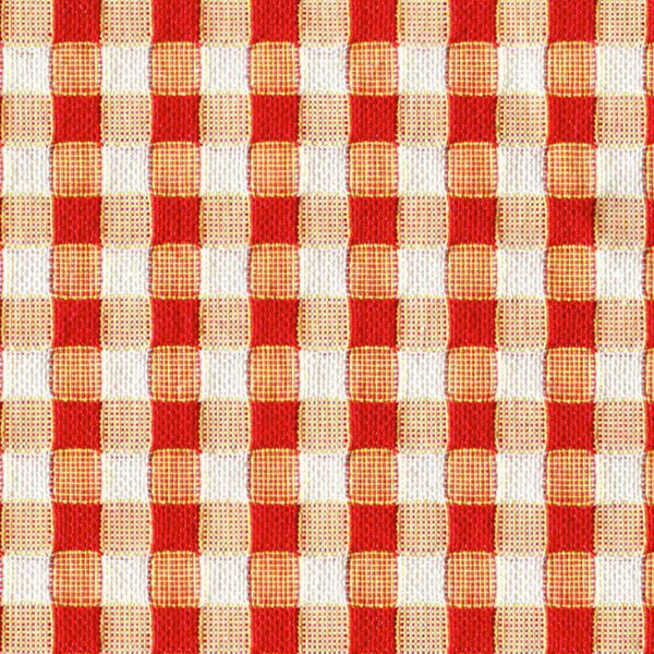 Holland & Sherry Key West Tangerine/Orange Diced Weave 3/8 x 7/16 inch 166004