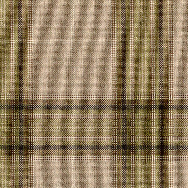 Holland & Sherry Key West Tan/Olive Mock Glen Plaid 2 x 2 1/2 inch 166306