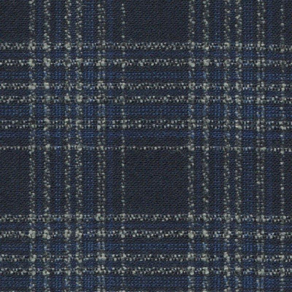 Holland & Sherry Oceania Navy/Grey Graph Plaid 2 x 2 2/8 inch 168004