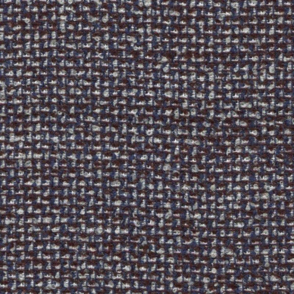 Holland & Sherry Oceania Navy/Maroon Small Neat Effect 168208