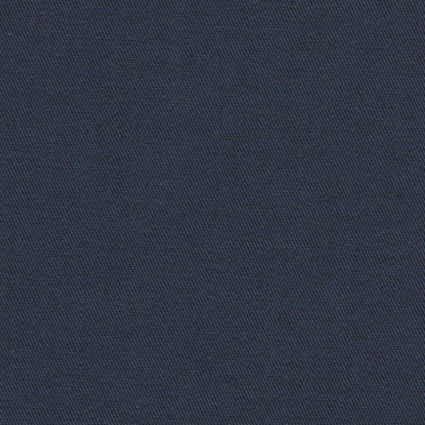 Holland & Sherry Luxury Cotton Classic Navy Solid 177002