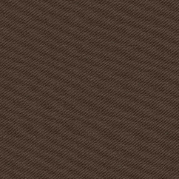 Holland & Sherry Luxury Cotton Classic Coffee Solid 177156