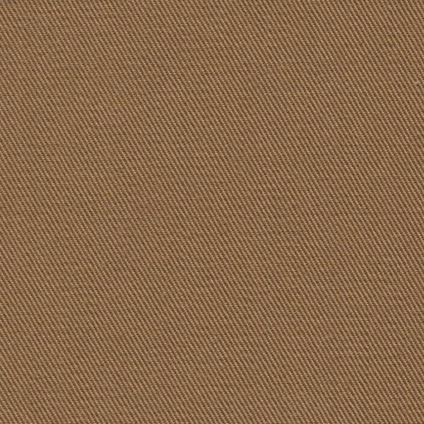 Holland & Sherry Luxury Cotton Classic Dark Tan Solid 177501