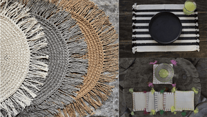 Handmade Placemats | Dining table must-haves