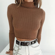 Explosive Style Bottoming Lace Sweater Khaki / S Sweaters
