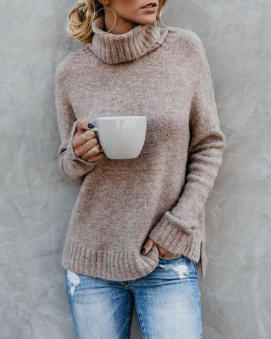 Womens Casual Slim Sweater