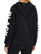Hooded Blend Casual Letters Jackets Coat