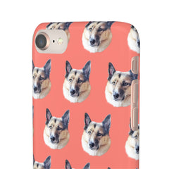 Close up your dog on your case phone case