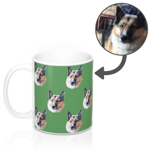 Your Dog on a Mug 11oz