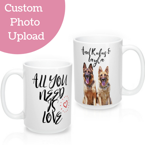All you need is love Custom Mug