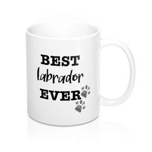 Best Labrador Ever Personalised Mug