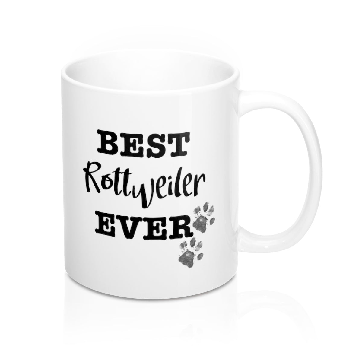 Best Rottweiler Ever Personalised Mug