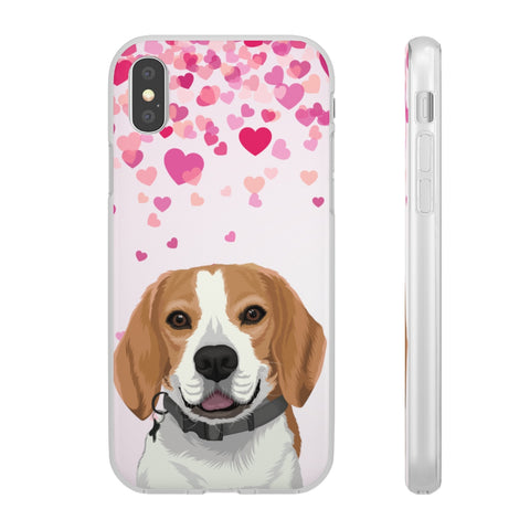 Valentine's Edition Pet Portrait Phone Case